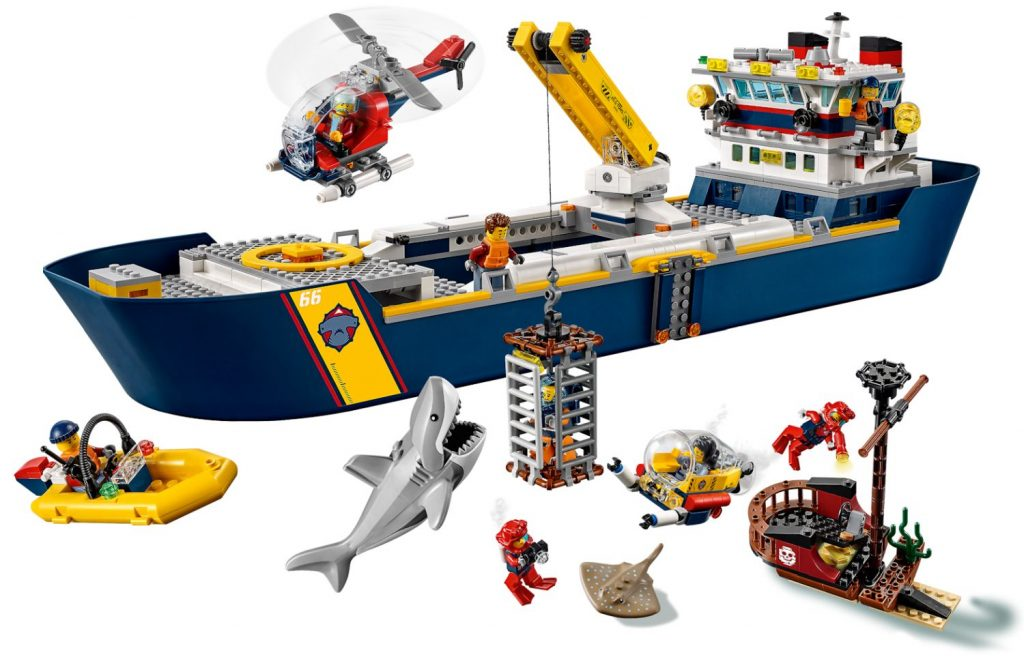 Official Images for LEGO City Ocean Explorer Sets! | The ...