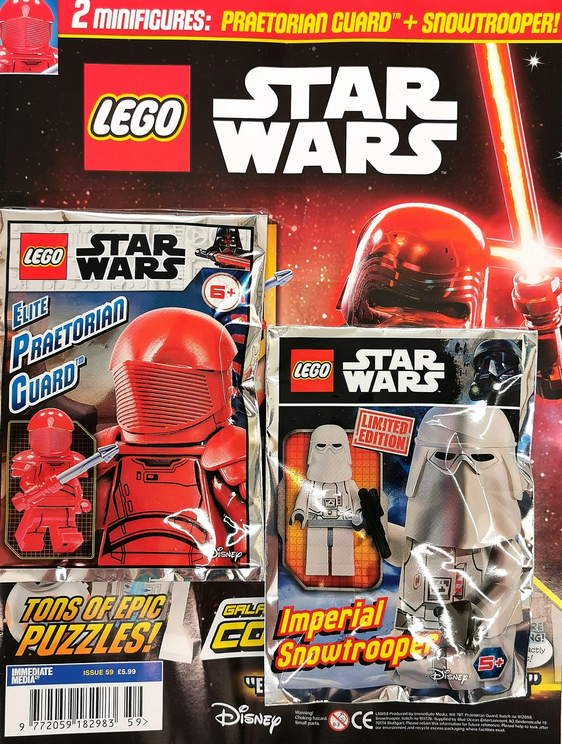 Lego Star Wars Magazine Issue 59 Includes Two Minifigures The Brick Post
