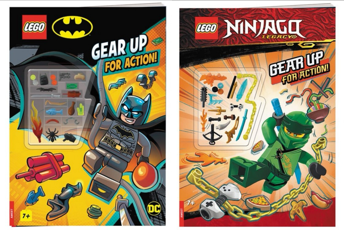 Two New 'Gear Up' Books from LEGO Coming Soon!