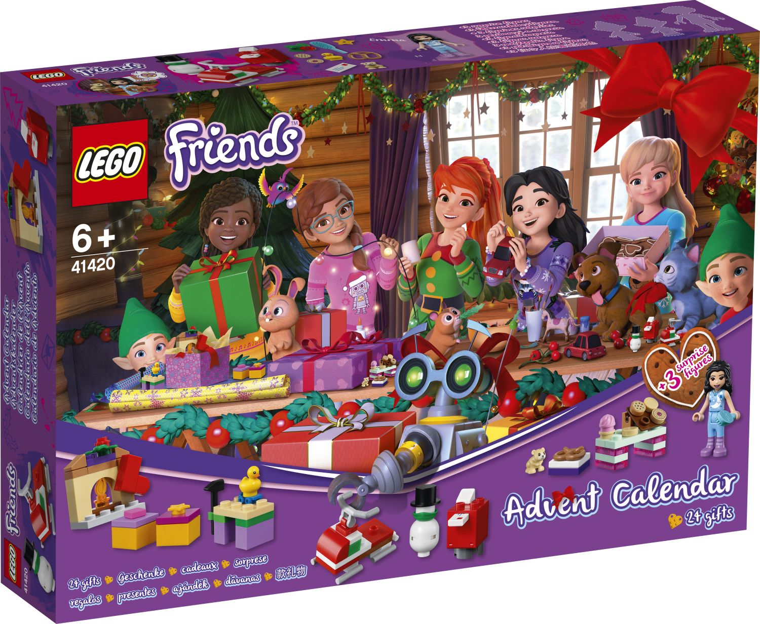 First Look LEGO Friends Advent Calendar 2020 (41420)! | The Brick