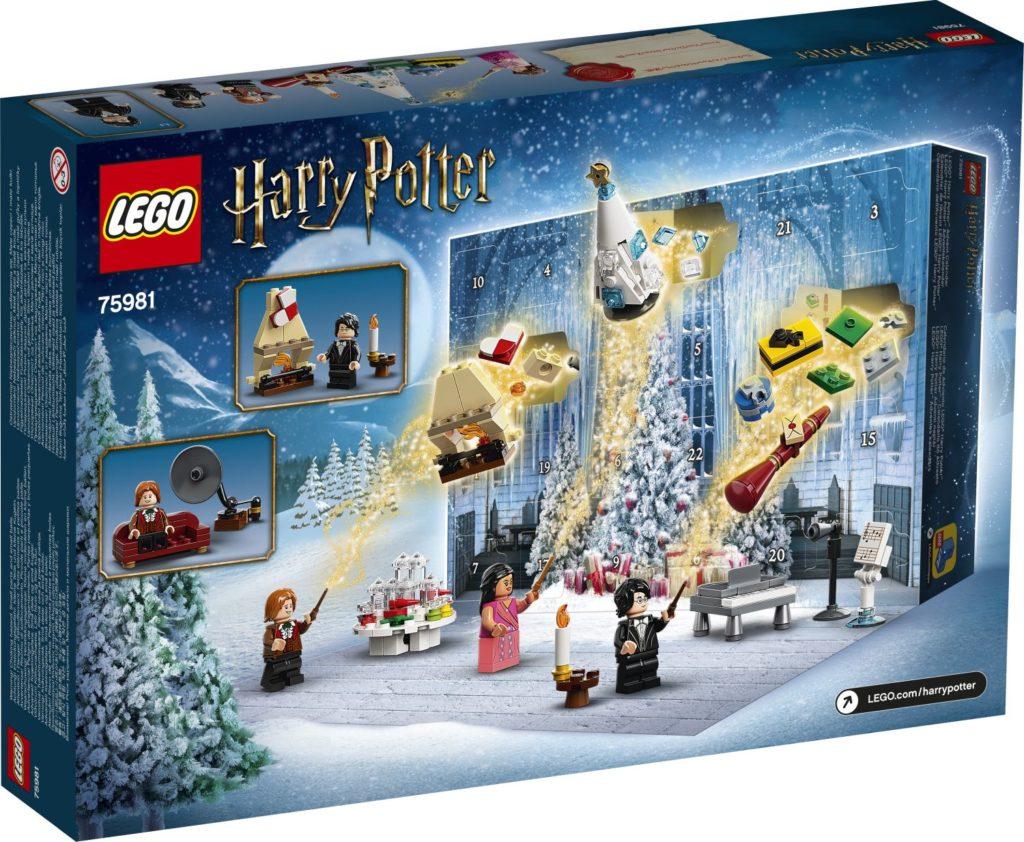 first look lego harry potter advent calendar 75918