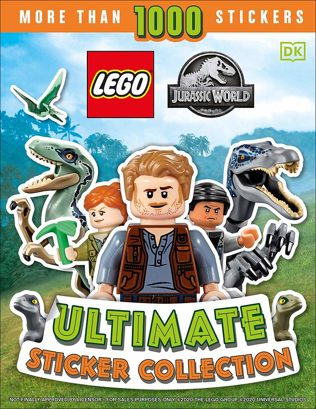 LEGO Jurassic World Dino Files Book Coming 2021! | The Brick Post!