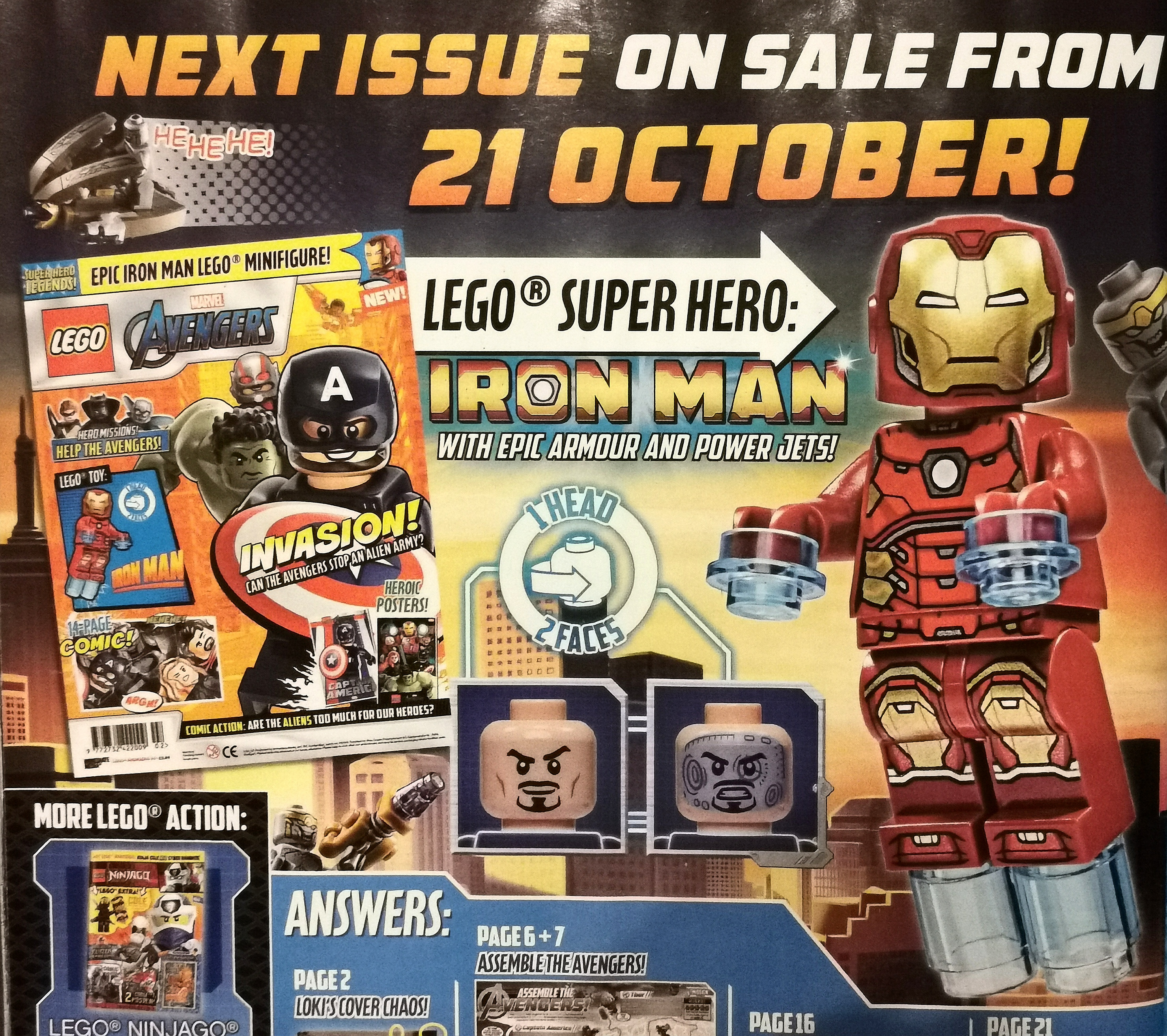 LEGO Avengers Magazine Issue 1 Out Now! | The Brick Post