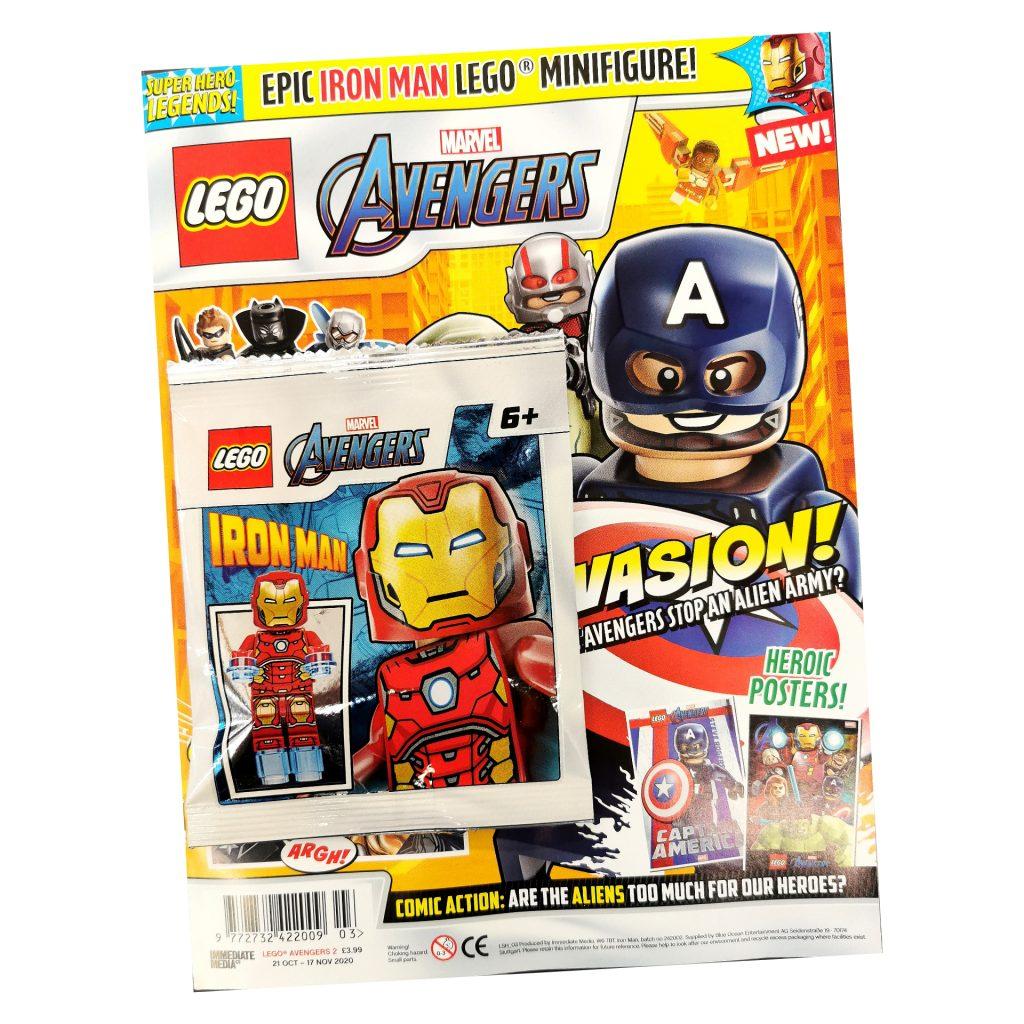LEGO Marvel Avengers Magazine Issue 2! | The Brick Post!