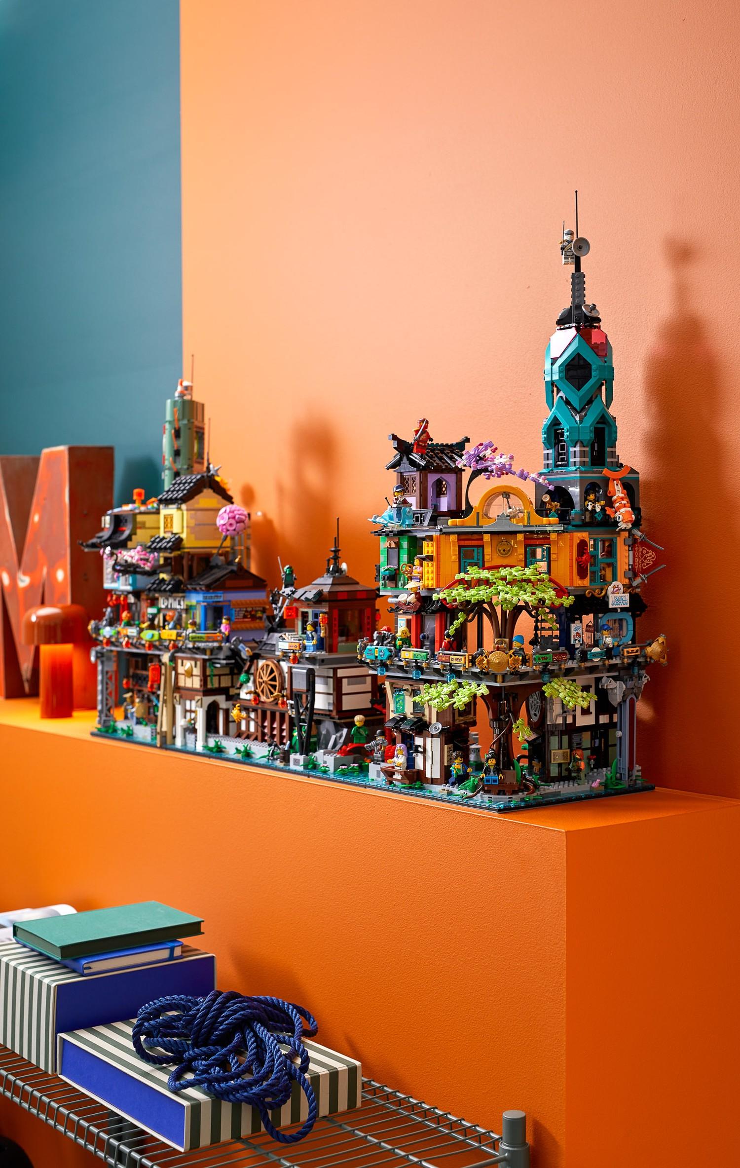 Official Reveal of LEGO Ninjago City Gardens (71741 ...