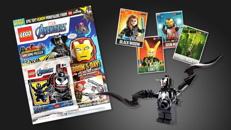 LEGO Marvel Superhero Legends Magazine Issue 4 - Venom