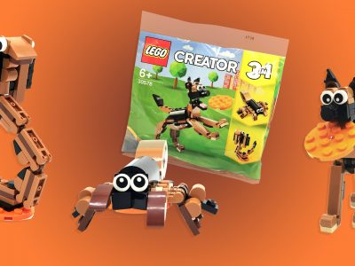 LEGO Creator 30578 3 in 1 German Shepherd Polybag
