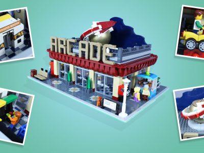 LEGO Ideas Feature Retro Arcade