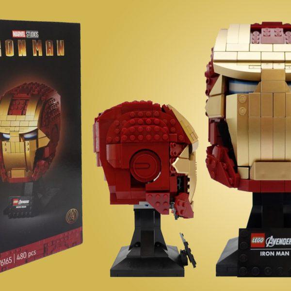 LEGO 76165 Marvel Iron Man Helmet