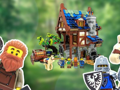 LEGO Ideas Medieval Blacksmith 21325