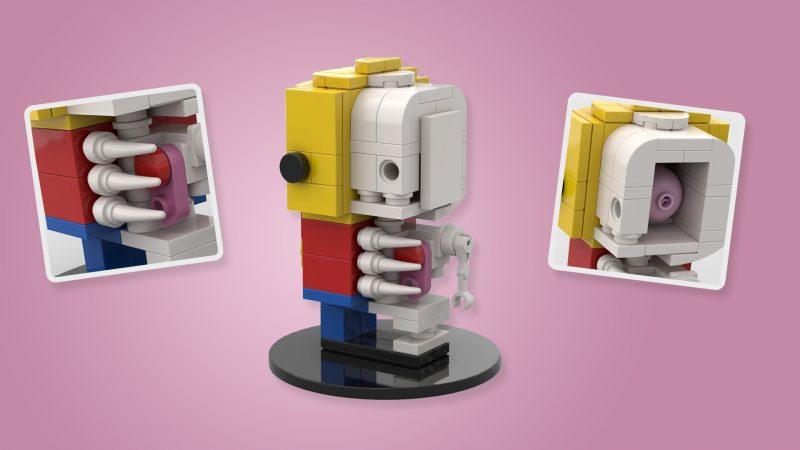 BrickHeadz Minifigure Anatomy