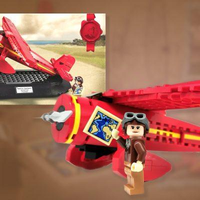 LEGO Amelia Earhart Tribute 40450