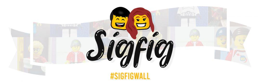 LEGO SigFig Wall
