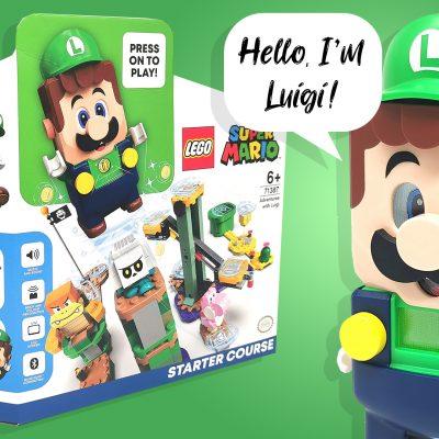 LEGO Super Mario Luigi Starter Course 71387