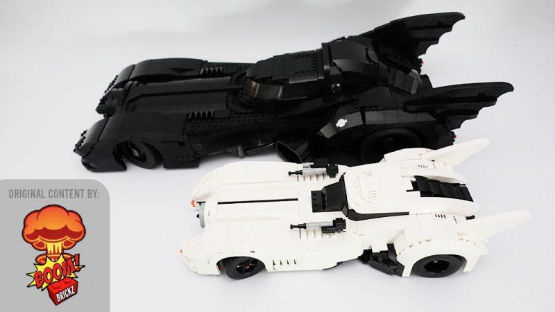 LEGO MOC Porsche 10295 to White Batmobile Boom Brickz