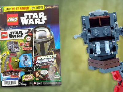 LEGO Star Wars Magazine Issue 75 AT-ST Raider