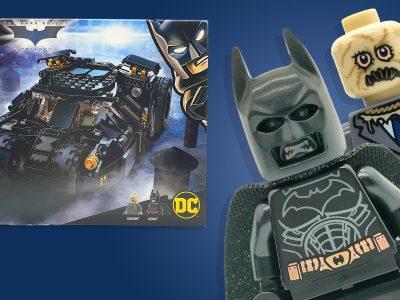 LEGO DC Batman Batmobile Tumbler Scarecrow Showdown 76239